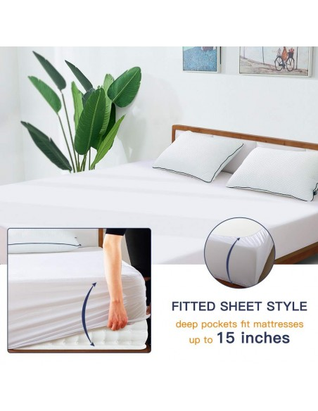 Hypoallergenic Cotton Mattress Cover king