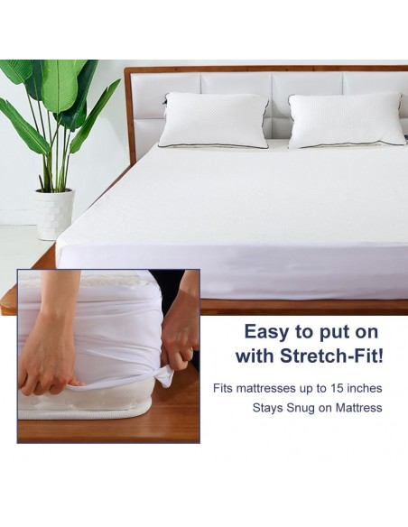 BedStory Waterproof Mattress Protector-king