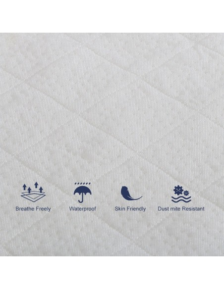 BedStory Waterproof Mattress Protector full
