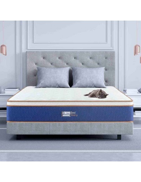 BedStory® Natural Latex Hybrid Mattress | Supportive & Responsive Feel