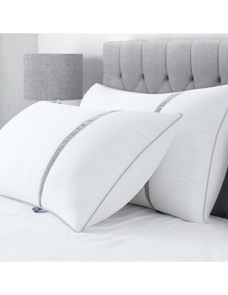 BedStory Pillows for Bed Set of 2, Down Alternative Pillows for Sleeping with Ultra Soft Fiber Fill