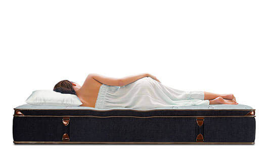 BedStory Spring Mattress Black