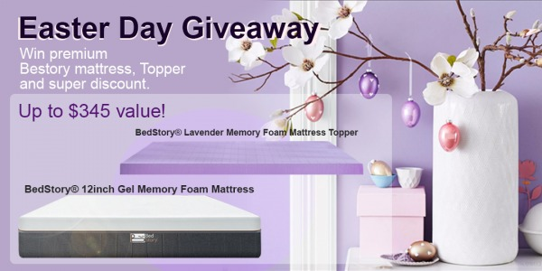 BedStory Easter Day Giveaway 2021